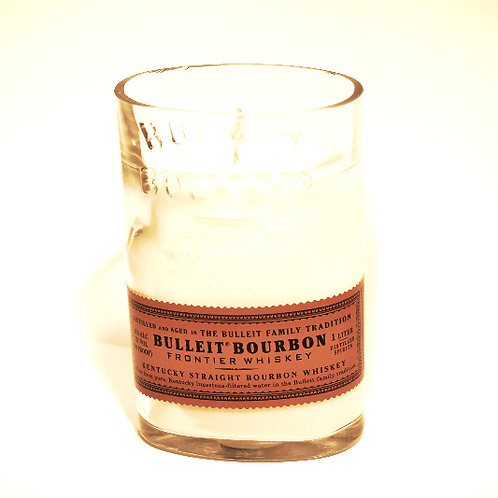 Liquor Bottle Candle