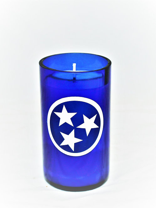 Tri-Star Sticker Candle