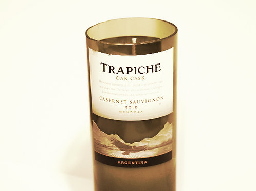 Tall Wine Candle