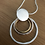 Thumbnail: Triple ring necklace