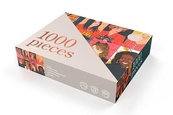 Puzzle - girl power (Damaged box)