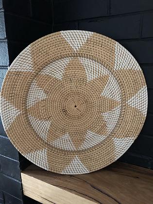 Natural decrative plate