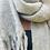 Thumbnail: Winter scarf - grey