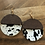 Thumbnail: Half - cow earrings