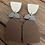 Thumbnail: Copy of Blue/black hang earrings
