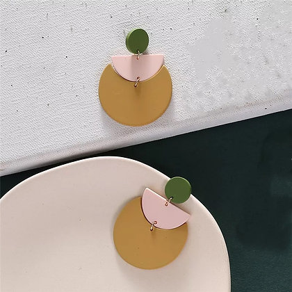 Mustard trend earrings