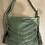 Thumbnail: Leather green bag