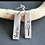 Thumbnail: Etched long earring