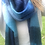 Thumbnail: Winter scarf - blues