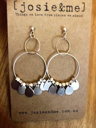 Selma earrings - gold