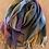 Thumbnail: Winter check scarf - blues