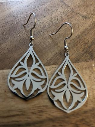 Delicate earrings - sil
