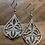 Thumbnail: Delicate earrings - rose gold