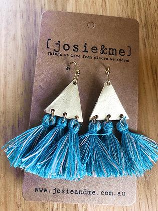 Aqua Tass earring