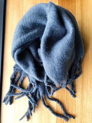 Winter soft Grey scarf