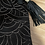 Thumbnail: Scetched Black hair leather bag
