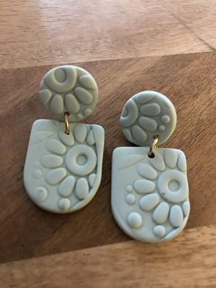 Cloud mac earrings