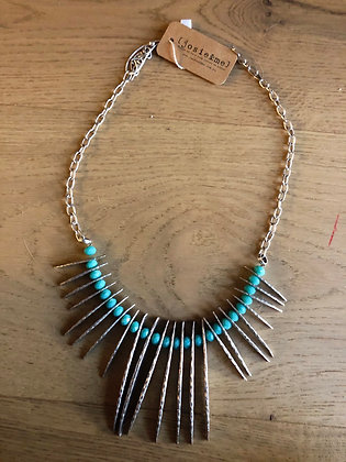 Ruya reed necklace