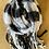 Thumbnail: Winter scarf - black&white