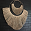 Thumbnail: Natural double fringed wallhanging (large)