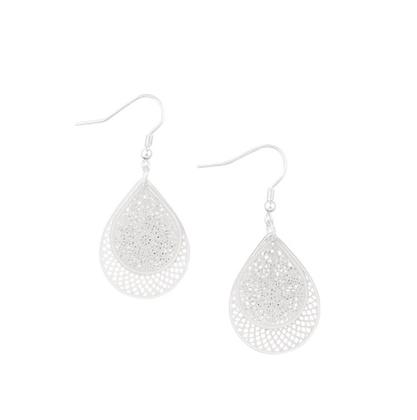 Doubles earrings - silver