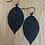 Thumbnail: Large leaf earring