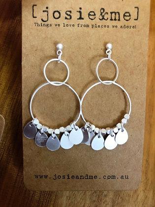 Selma earrings - silver