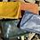 Thumbnail: Yellow mini leather clutch