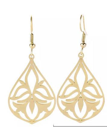 Delicate earrings - gold