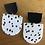 Thumbnail: Polly black/white earrings