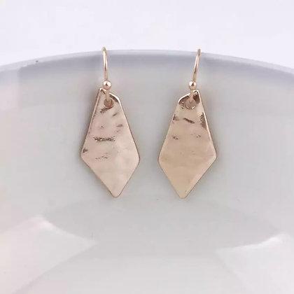 Little rose drop earrings