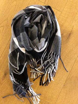 Winter greys scarf