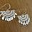 Thumbnail: Span earrings - silver