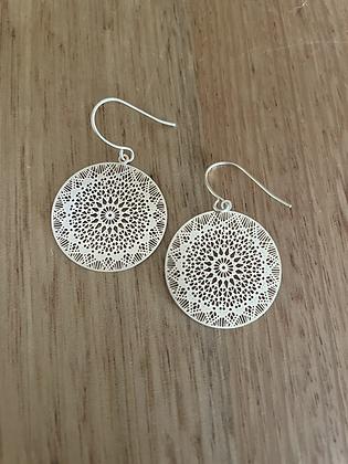 Chandi earrings - gold