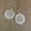 Thumbnail: Chandi earrings - gold
