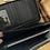 Thumbnail: Black leather purse