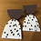 Thumbnail: Polly brown/white earrings