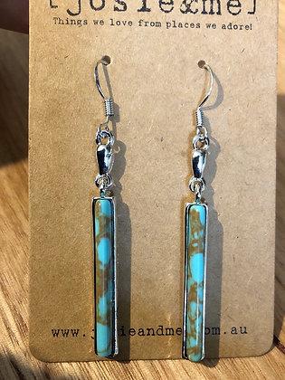 Torque earrings