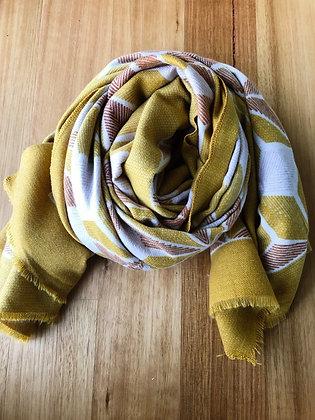 Seven scarf - mustard