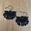 Thumbnail: Copy of Span earrings - black
