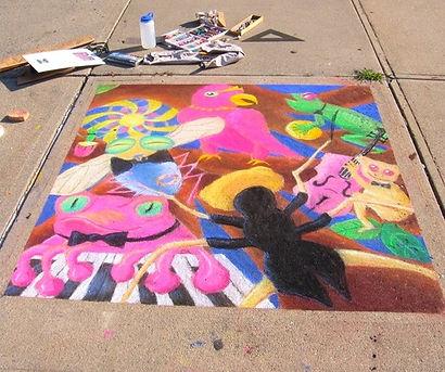 Northampton Center for the Arts Chalk Art Festival, Academy of Music