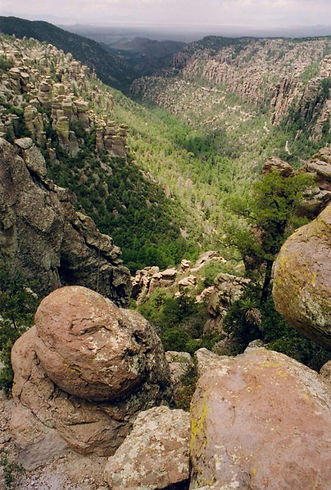 rock formations Chiricahua National Monument Madrean Sky Island Alliance Calender Image