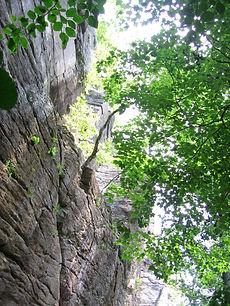 Cliff, Leominster State Forest, Massachusetts