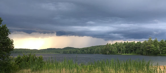 Coming Storm Greenfield State Park, New Hampshire