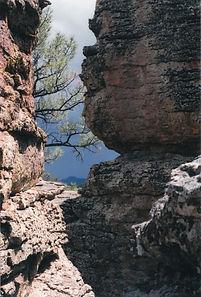 Dark Clouds and Hoodoos at Chiricahua National Monument Arizona madrean sky islands