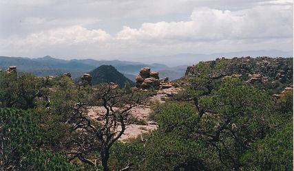 forest fire chiricahua national monument arizona
