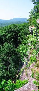 Cliff Overlook, Leominster Forest, Massachusetts