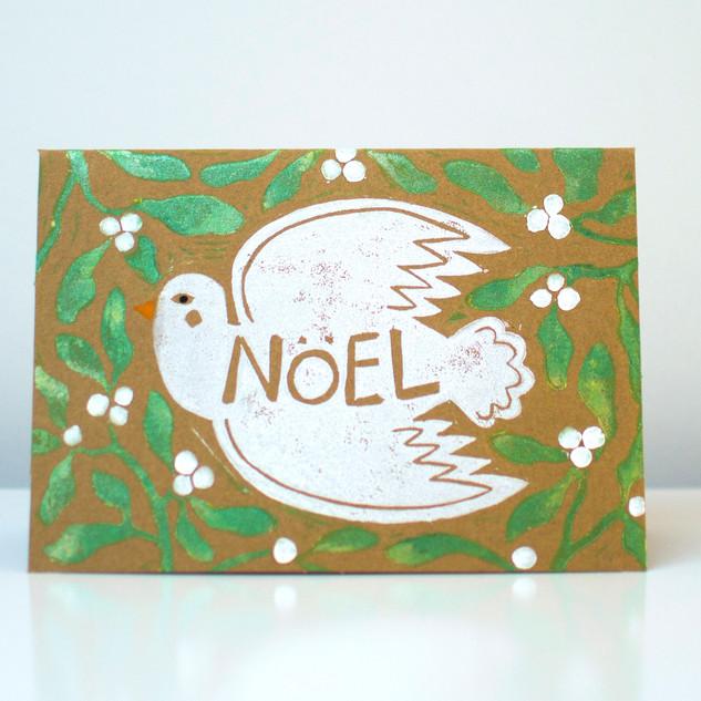 Dove and Mistletoe, Green