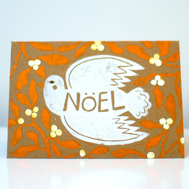 Dove and Mistletoe, Orange