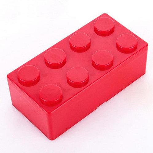 Boite de rangement forme lego